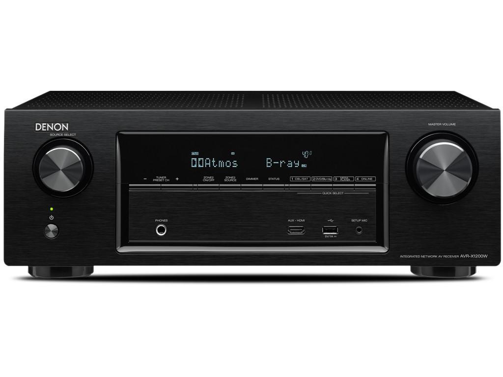 Ampli Home Cinéma 7.2 Denon AVR-X1200W 4K HDCP 2.2