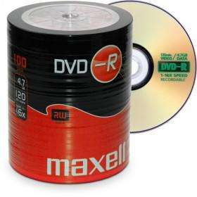 DVD-R 4,7 Go Maxell 16x vitesse ECO-Pack 100 pièces