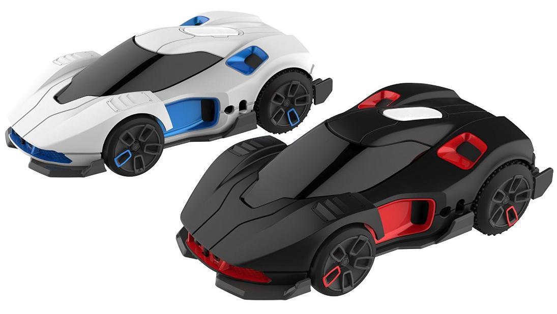 Lot de 2 voitures WowWee R.E.V pour smartphone et tablette