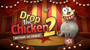Drop The Chicken 2 gratuit sur iOS (au lieu de 0.99€)