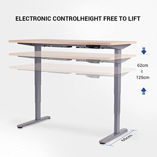 [Prime] Bureau électrique réglable en Hauteur Flexispot E5S (vendeur tiers)