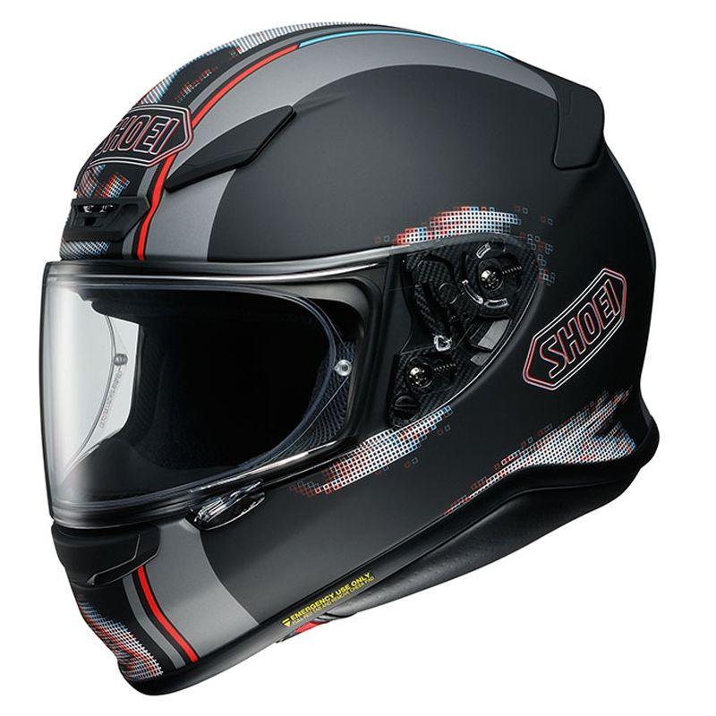 Casque moto intégral Shoei NXR Tale TC5 - Noir et tailles au choix