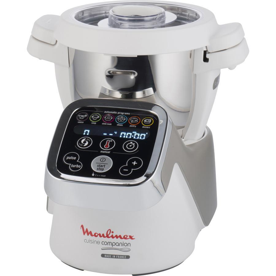 Robot cuiseur Moulinex Companion HF800 + Découpe légumes Companion XF383110 (Avec ODR de 70€)