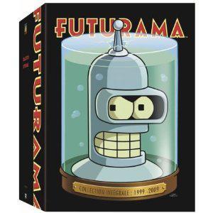 Coffret Futurama Saison 1 à 4 et 4 Films en DVD