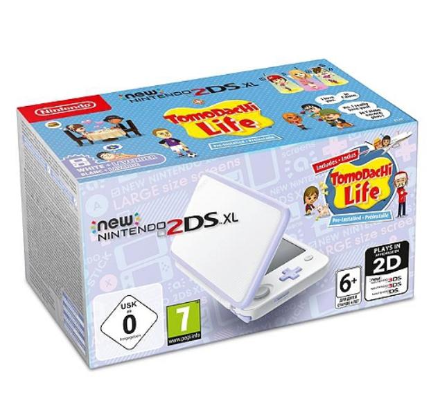 Console Nintendo New 2DS XL Tomodachi Life + 4 jeux