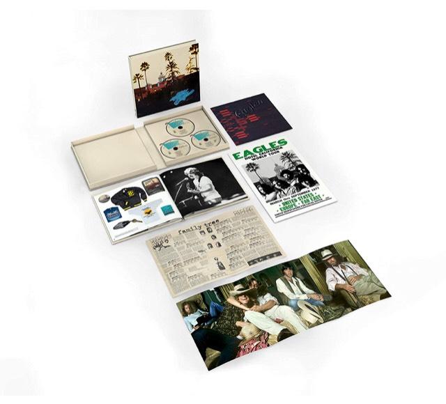 [Prime IT] Coffret Blu-ray + CDs Eagles - Hotel California - Édition 40th Anniversary Deluxe