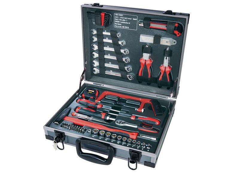 Coffret avec outils Powerfix - 66 pièces