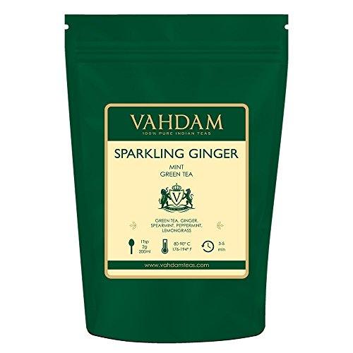 [Prime] Sélection de thés Bahdam en promotion - Ex : Thé vert au gingembre et à la menthe - 200g (vendeur tiers)