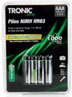 Lot de piles rechargeables (ex:4 AA) NiMH fad - Plusieurs modèles