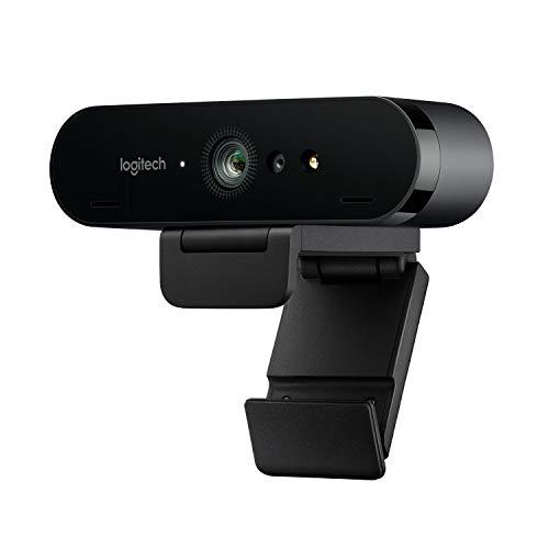 Webcam Logitech Brio - 4K UHD, noir