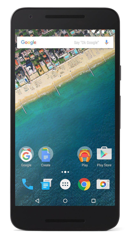 "Smartphone 5.2"" Google Nexus 5X (blanc) 16 Go"