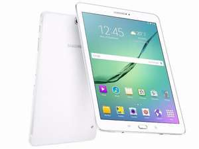 """[Adhérents] Tablette 8"""" Samsung Galaxy Tab S2 -  32 Go Wifi Blanche (Via ODR et 30€ sur la carte)"""