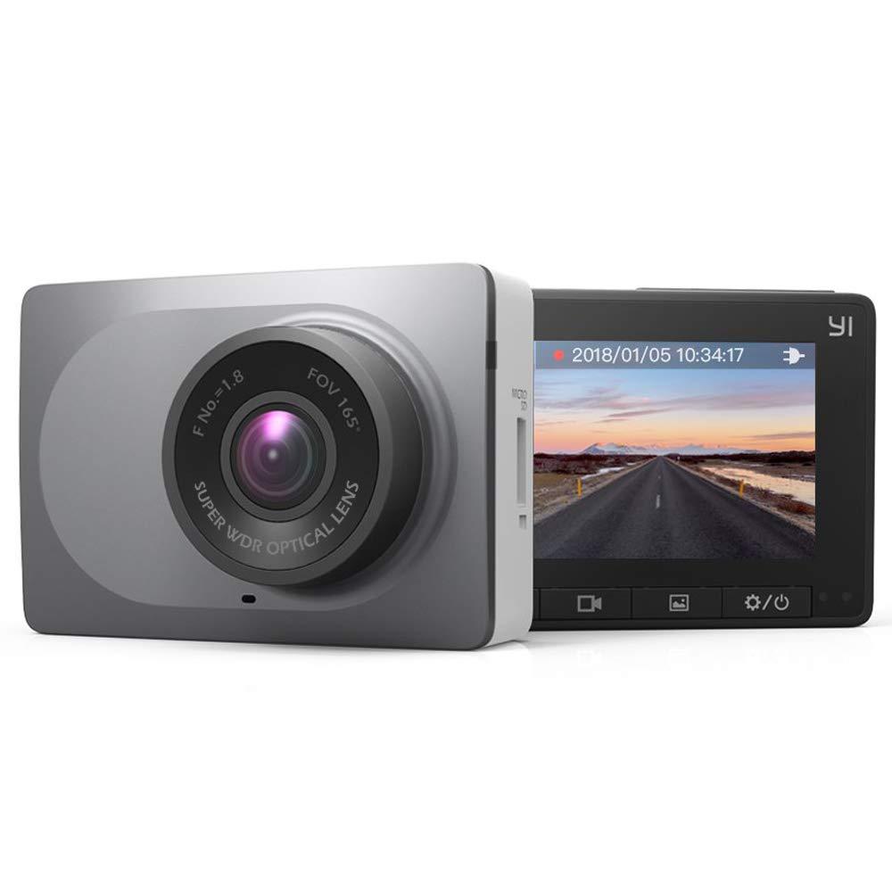 "Caméra embarquée DashCam YI - 1080p / 60 fps, 165°, Ecran 2.7"", WiFi, Vision nocturne (Vendeur tiers)"