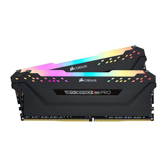 Kit mémoire RAM Corsair Vengeance RGB PRO DDR4 - 16 Go (2 x 8 Go), 3600 MHz, CAS 18, Ryzen Edition