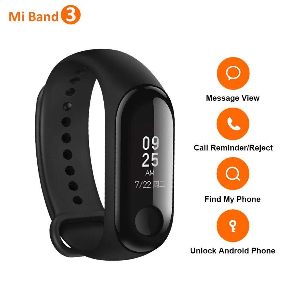 Bracelet connecté Xiaomi Mi Band 3 - Version Internationale (Vendeur tiers)