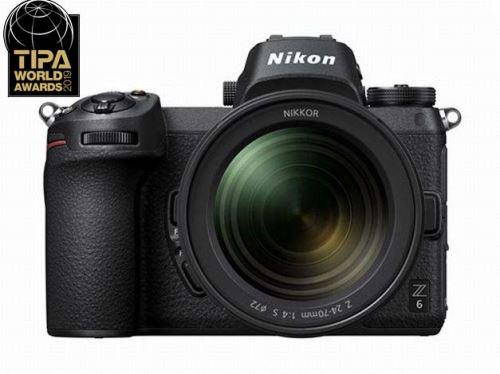 Appareil photo Hybride Nikon Z6 Noir + Objectif Nikkor 24-70 mm f/4