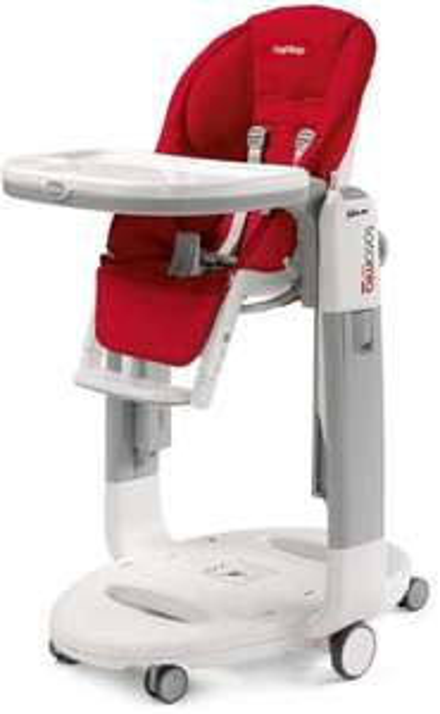 [Prime IT] Chaise haute Peg Perego ih02000000pl59 pour Bébés - Rouge