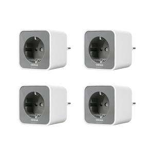 Lot de 4 Prises Connectées Osram Smart+ Plug Compatible Android & Amazon Alexa - Zigbee -  (Frontaliers Allemagne)