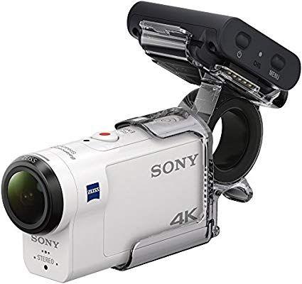 [Prime] Camera d'action ultra-stabilisée Sony FDR-X3000R + AKA-FGP1 - 4K UHD
