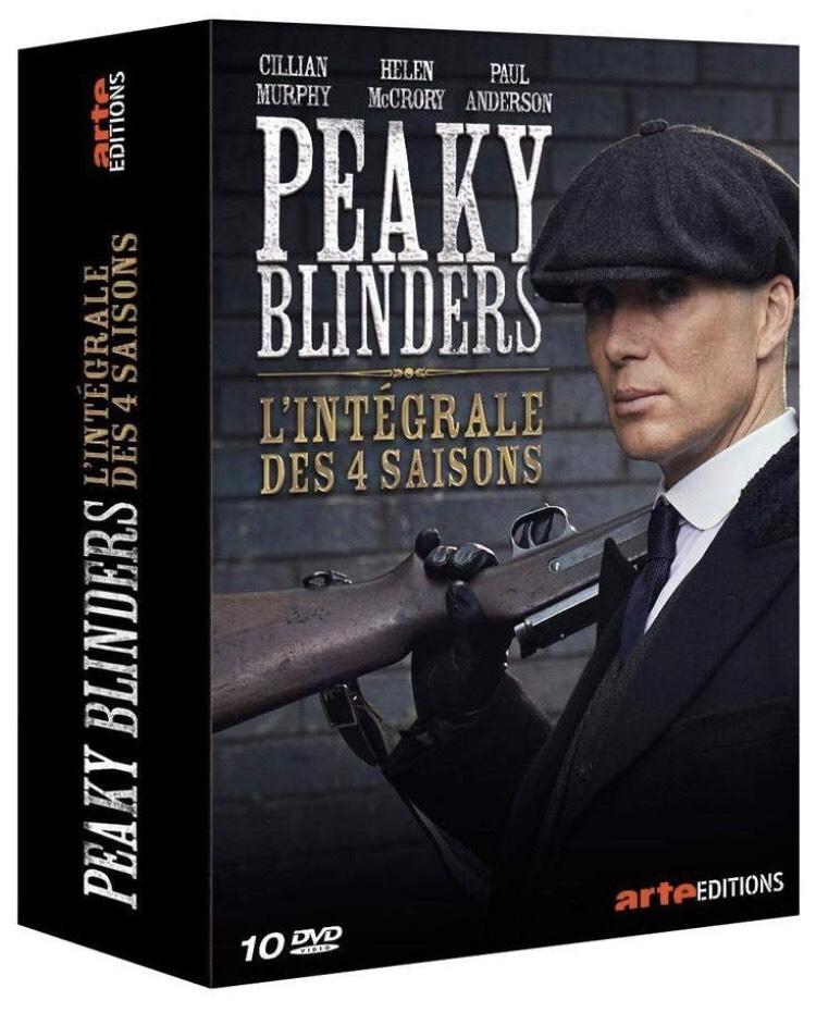 Coffret DVD : Peaky Blinders l'intégral des 4 saisons