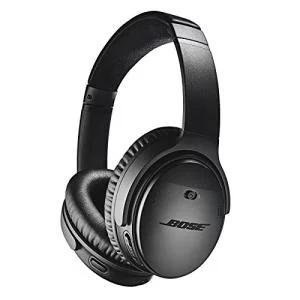 Casque audio bluetooth à réduction de bruit Bose Quietcomfort 35 II - Noir, Silver ou Rose (Frontaliers Suisse)