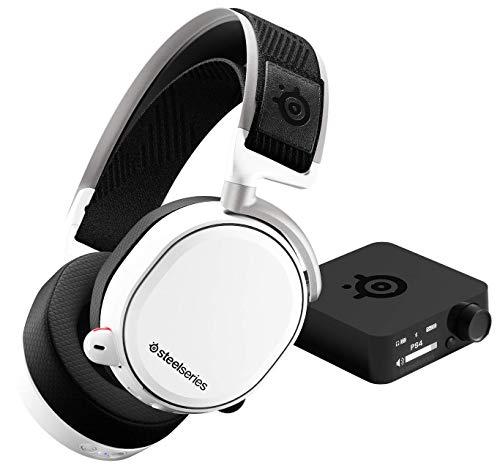 [Prime]  Casque Gaming sans fil SteelSeries Arctis Pro Wireless - Blanc