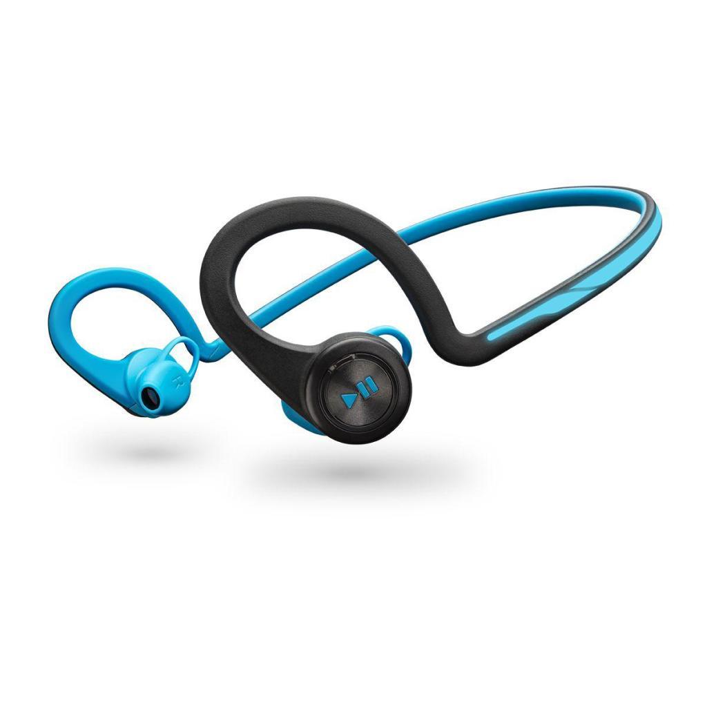 Écouteurs bluetooth Plantronics Back Beat Fit - Bleu