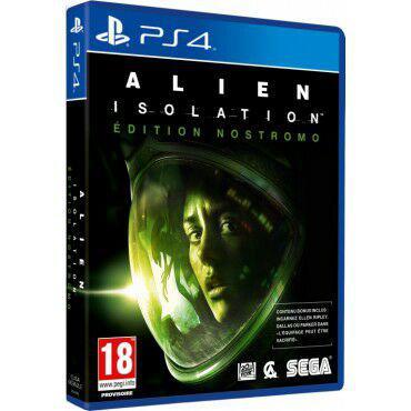 Jeu Alien Isolation sur PS4 et Xbox One - Edition Nostromo