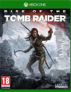 Rise of the Tomb Raider + Forza Motorsport 6 ou Halo 5 sur Xbox One (version UK)
