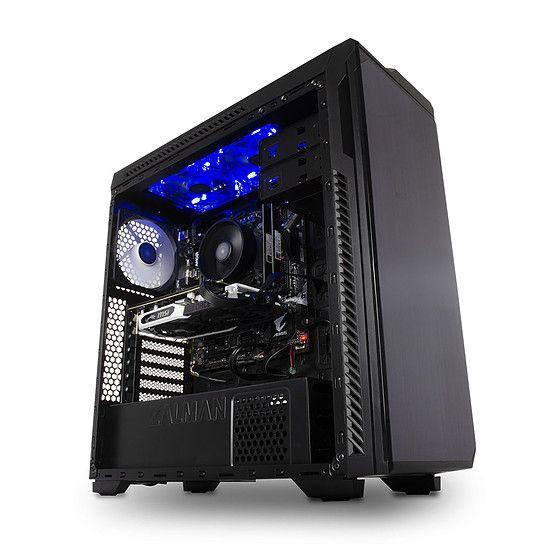 PC de bureau Materiel.net Beast - AMD Ryzen 5 2600, SSD 250 Go HDD 1TO, 16 Go, GeForce GTX 1660