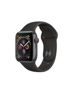 [Prime IT] Montre connectée Apple Watch Series 4 (GPS + Cellular) - Boîtier en Aluminium, 40 mm