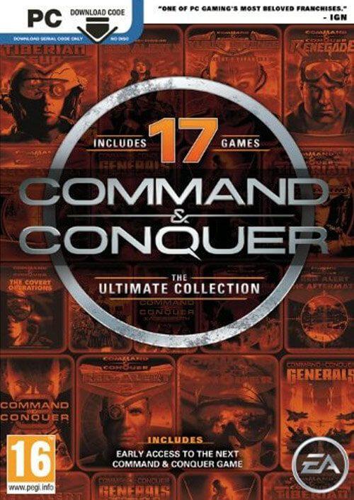 Command & Conquer The Ultimate Collection (17 jeux) sur PC (Dématérialisé - Origin)