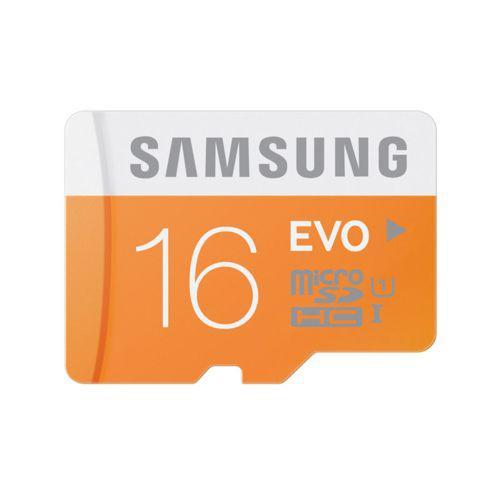 Carte mémoire microSDHC Samsung Evo 16 Go Classe 10
