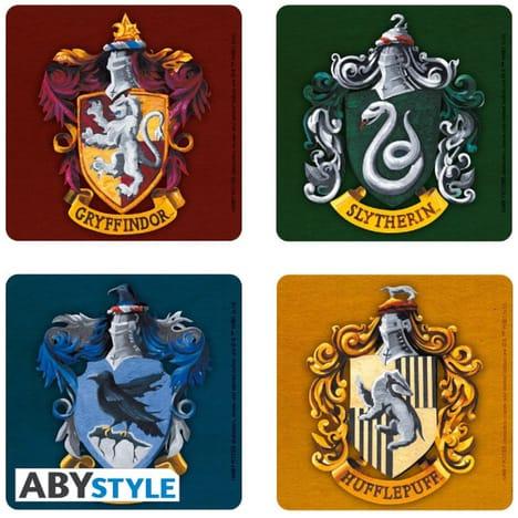 Sélection de goodies soldés à 1€ - Ex : Set de 4 dessous de verre Harry Potter