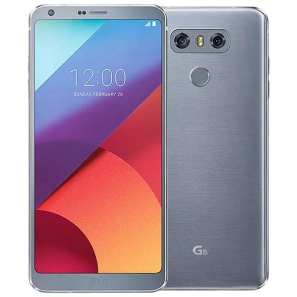 """Smartphone 5.7"""" LG G6 - QHD+, SnapDragon 821, 4 Go de RAM, 32 Go - Argent (Vendeur tiers)"""