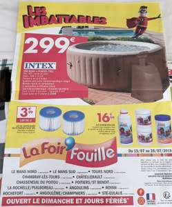 Spa Gonflable Purespa Bulles Intex - 4 places