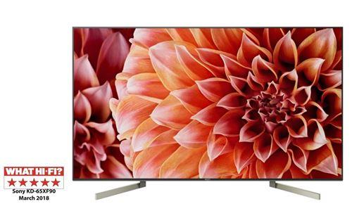 "TV 65"" Sony KD65XF9005BAEP - 4K UHD, Full LED (Frontaliers Belgique)"