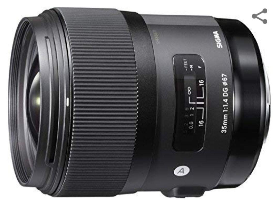 Sigma Objectif 35 mm F1,4 DG HSM ART - Monture Nikon