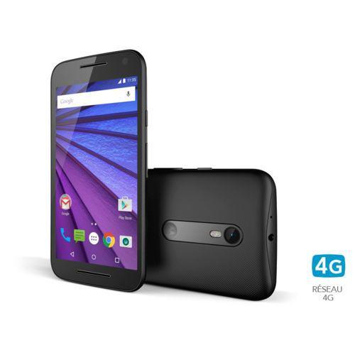 """Smartphone 5"""" Motorola Moto G 4G 3ème génération - 8 Go (20€ ODR)"""