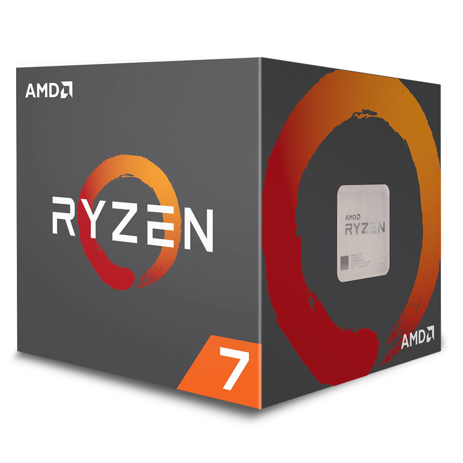 Processeur AMD Ryzen 7 2700X Wraith Prism Edition - 3,7/4,3 GHz