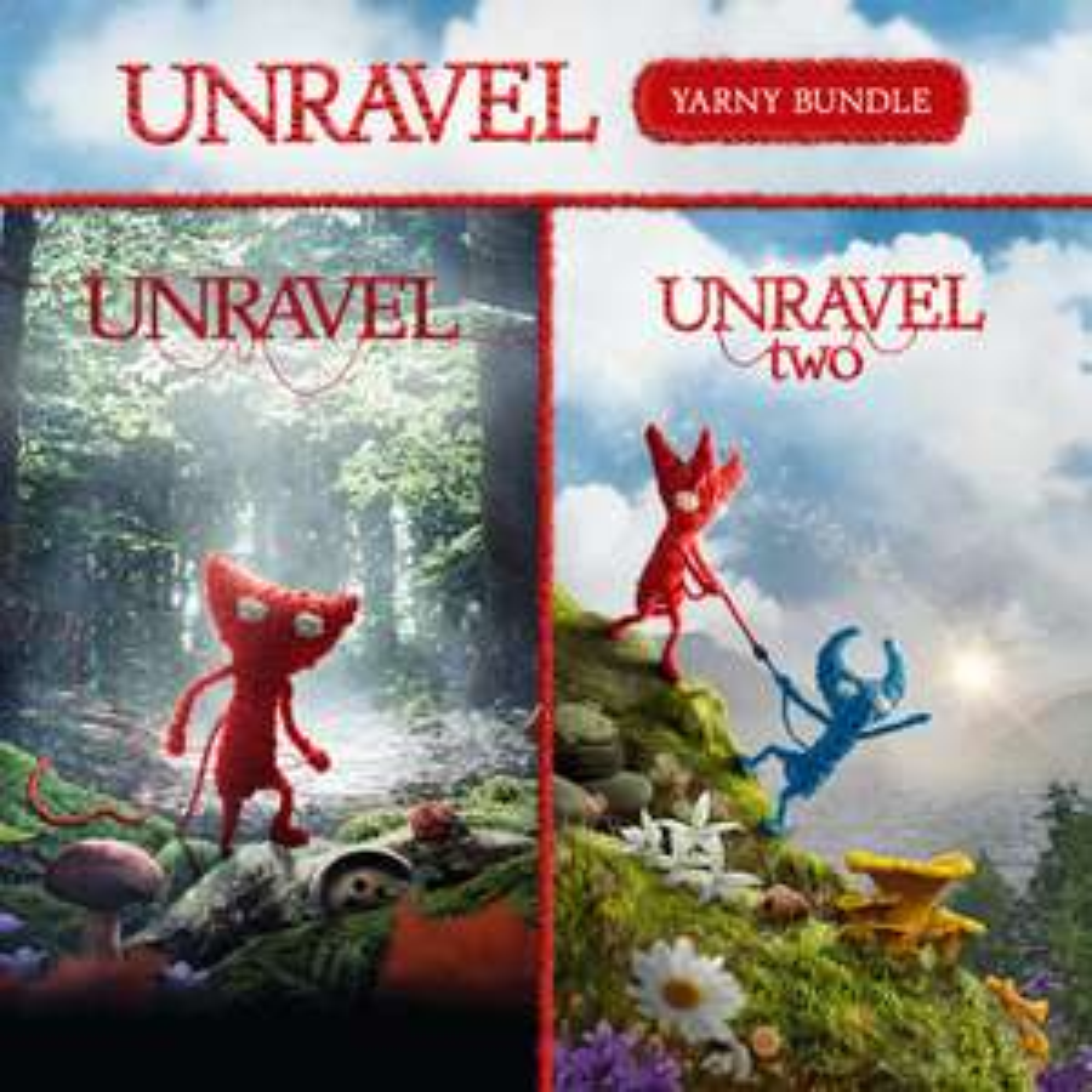 [Abonnés Gold] Pack Unravel Yarny : Unravel 1 & 2 sur Xbox One (Dématérialisé)