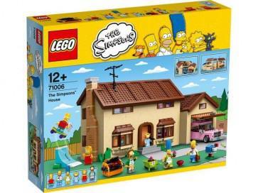 Jouet Lego - La Maison des Simpsons - 71006