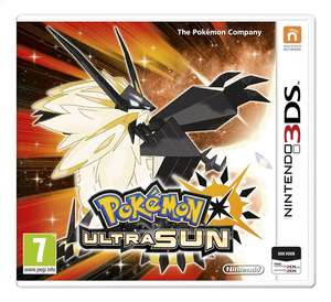 Pokemon Ultra Soleil sur Nintendo 3DS (Frontaliers Belgique)