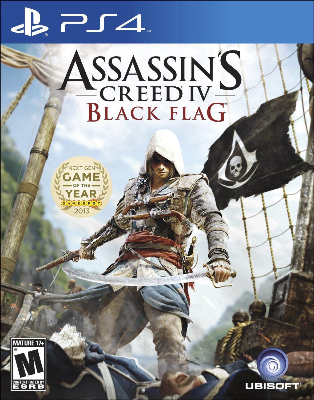 assassin's creed black flag sur PS4