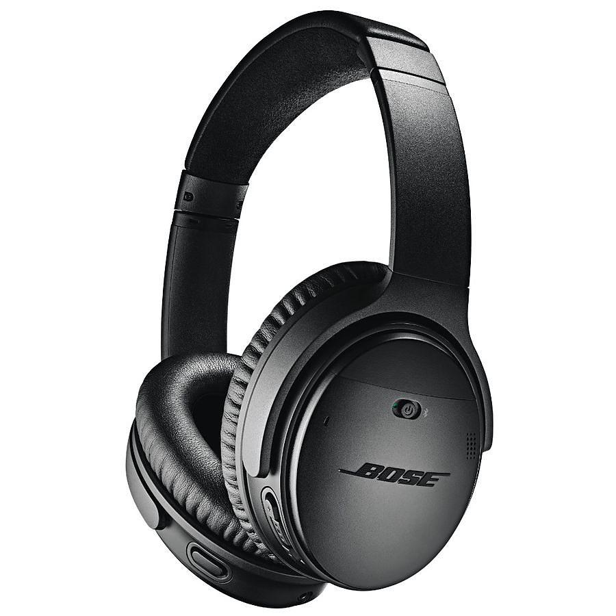 Casque sans-fil Bose QuietComfort 35 II (V2) - Bluetooth, Noir