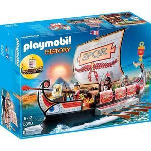 Playmobil 5390 - History - Galère Romaine