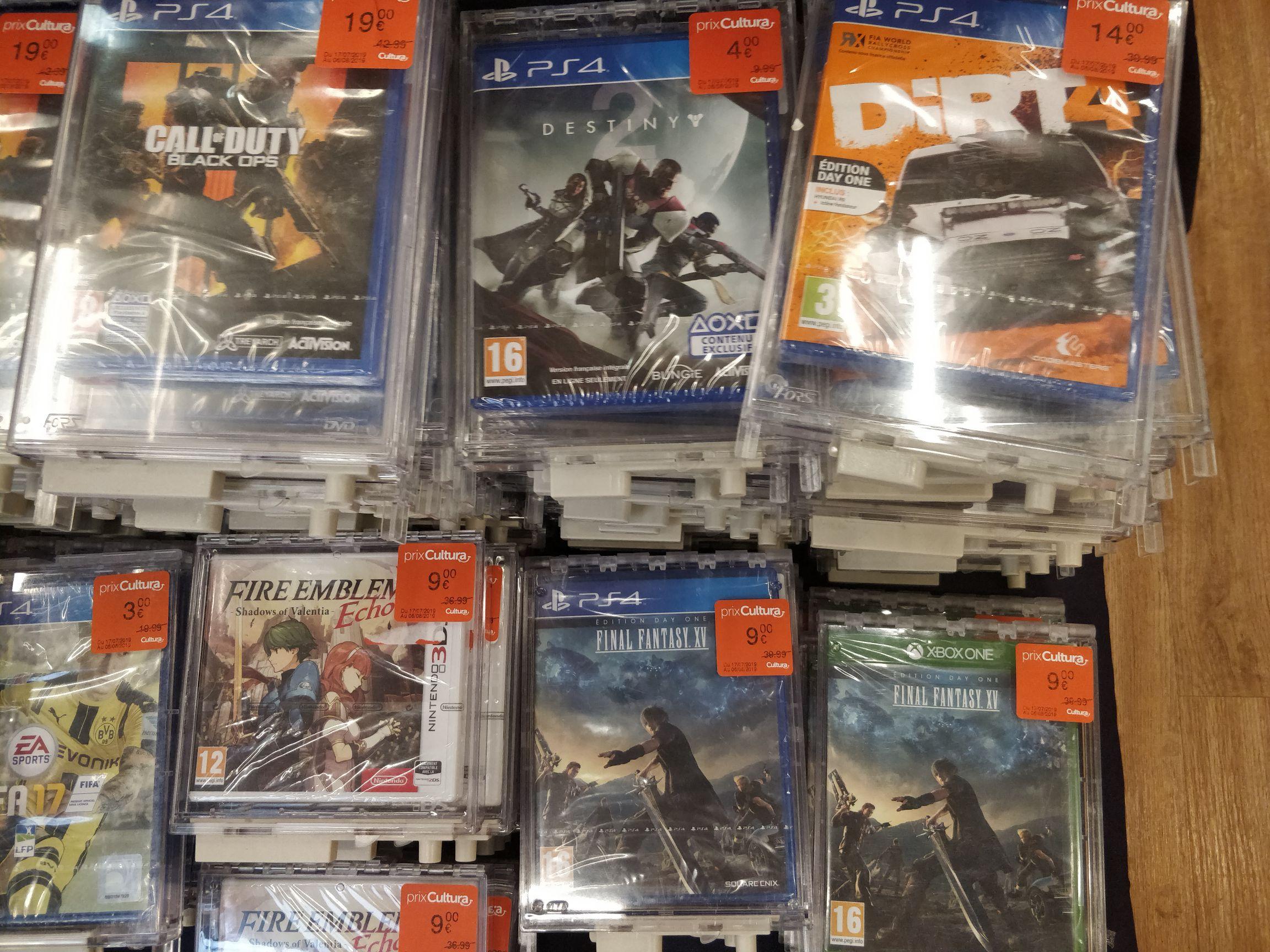 Sélections de jeux Xbox One et PS4 en promotion - Ex : Destiny 2 - Cormontreuil (51)