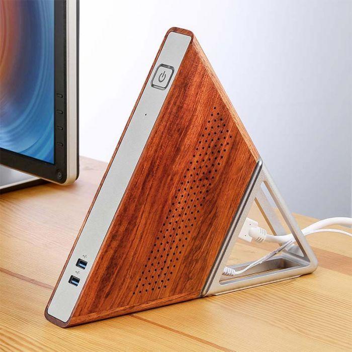 Mini PC Acute Angle AA - Appolo N3450, 8Go RAM, 64Go eMMC, 128Go SSD, Gigabit, 3 USB 3.0