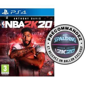 Précommande : Jeu NBA 2k20 sur PC, PS4 ou Xbox One + Ballon Spalding