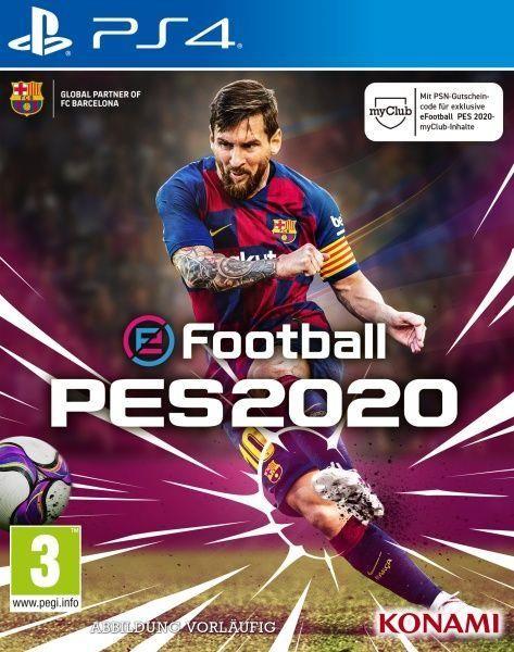 [Pré-commande] eFootball PES 2020 sur PS4 ou Xbox One (+ 8€ en SuperPoints)